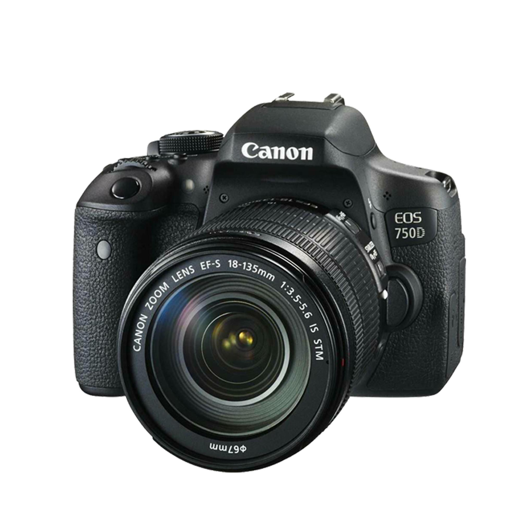 CANON EOS 750D Camera + Canon EF 18-135mm Lens