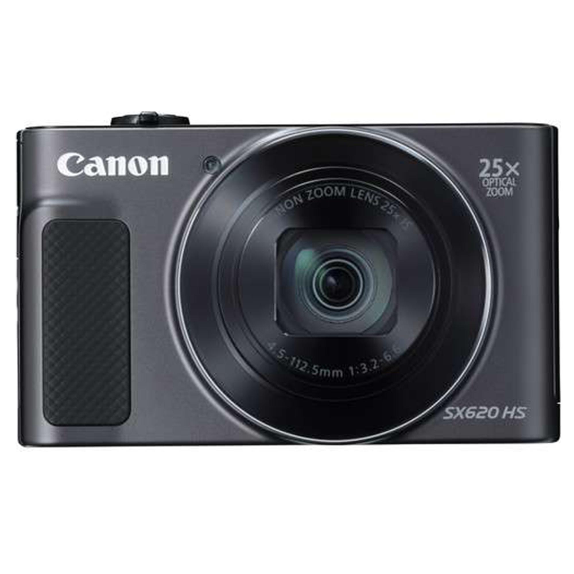 Canon PowerShot SX620 HS Black + free Gift vanguard BIIN 7H & 8GB Memory card