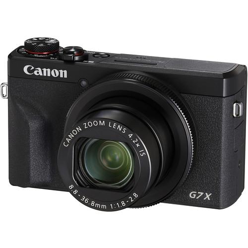 Canon PowerShot G7 X Mark III Digital Camera (Black)